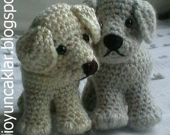 Amigurumi Little Dog