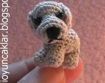 Amigurumi 0.9 inc Miniature Dog Pattern