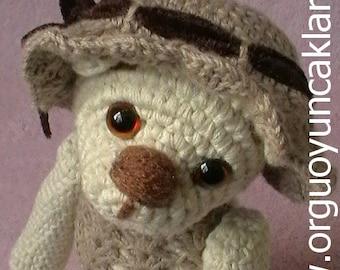 Amigurumi 5 ways jointed Teddy Bear Pattern