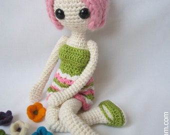 Amigurumi Pink Doll Pattern