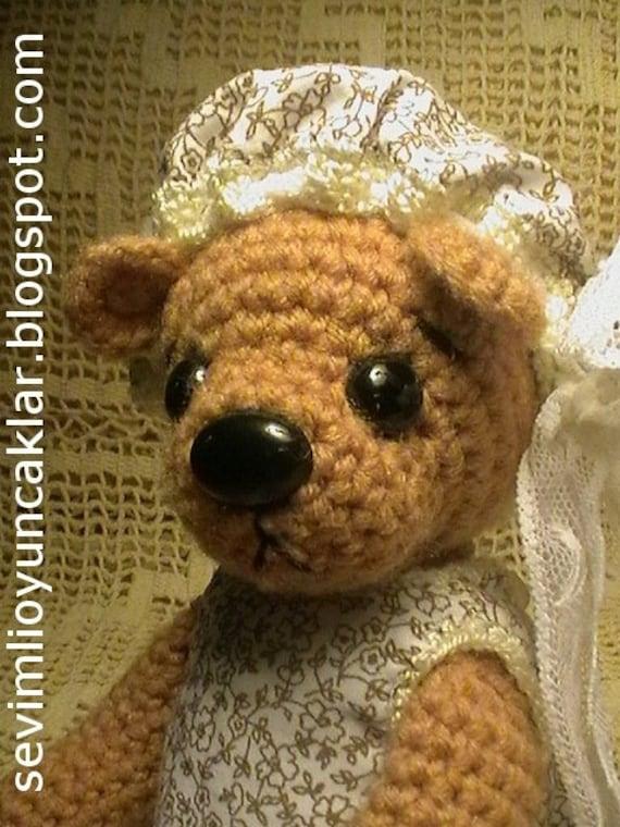 Amigurumi Pattern Teddy Bear : Amigurumi Teddy Bear Pattern
