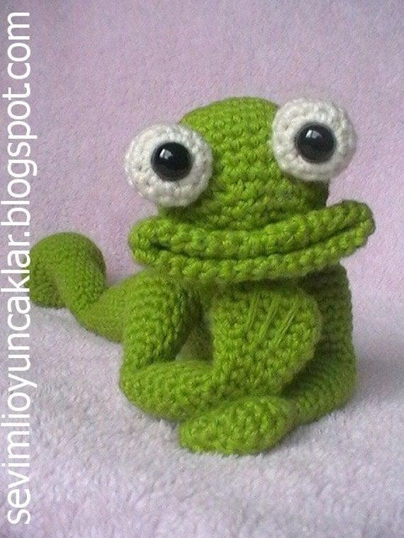 Amigurumi Green Frog : Amigurumi Frog Pattern