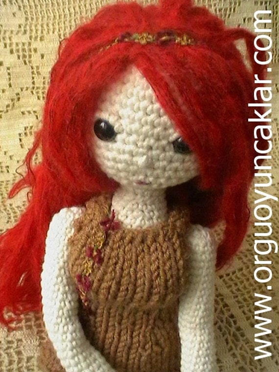 Amigurumi Askina Etsy : Amigurumi Fall Doll Pattern by Denizmum on Etsy