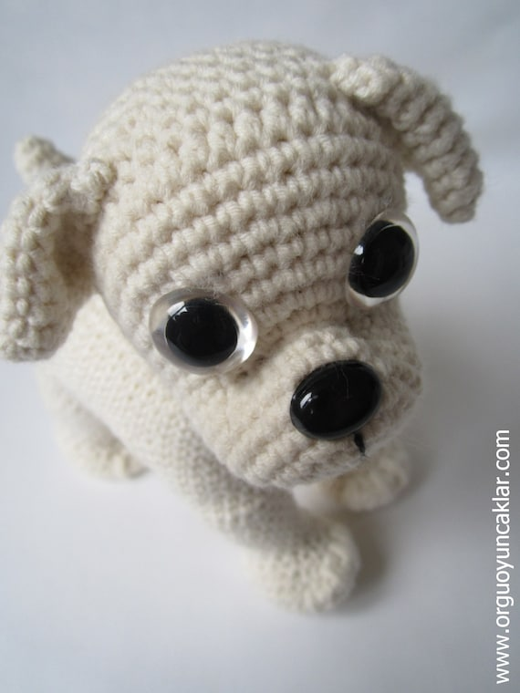 Amigurumi Askina Etsy : Amigurumi Bulldog Pattern by Denizmum on Etsy