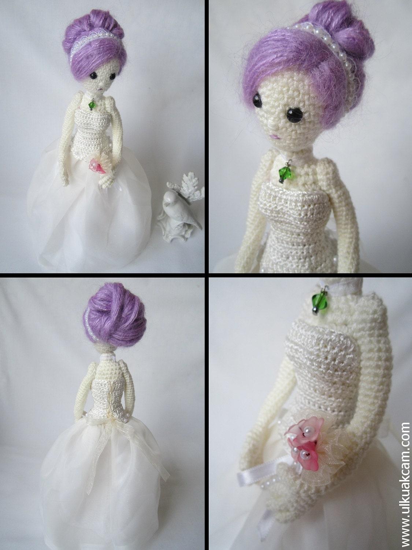 Amigurumi Simple Patterns : Amigurumi 5 ways jointed Wedding Dolls Pattern from ...