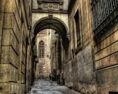 Old Barcelona street 7 x 10,5 Fine Art Photography