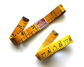 Double Measure - Vintage Measuring Tapes