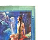 Indian Princess - Antique Scrapbook Page