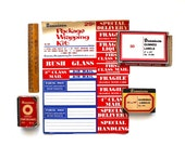 Stock Up Your Office - Vintage Dennison Gummed Labels and More
