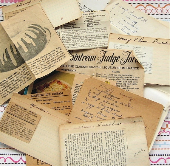 Tried and True - Vintage Collection of Recipes