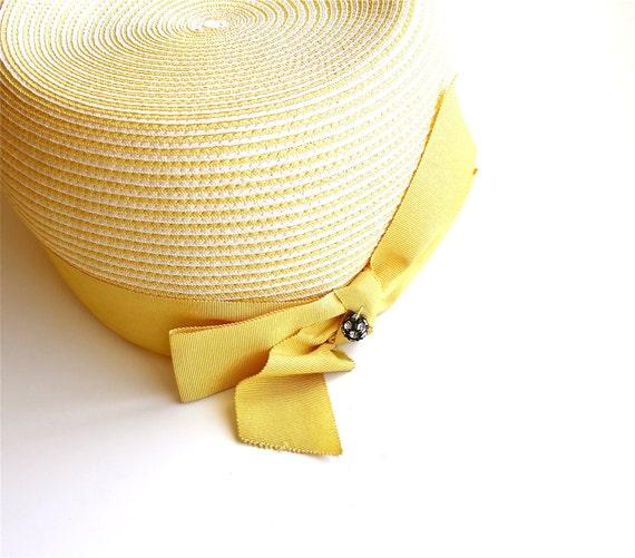Sunshine Summer - Vintage Sears Millinery Hat