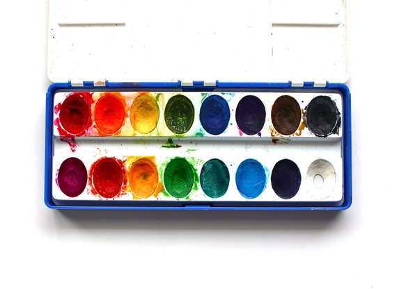 Paint Something - Vintage Binney and Smith Water Colors