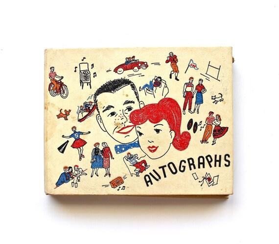 Rockabilly High - Vintage 1950s Autograph Book