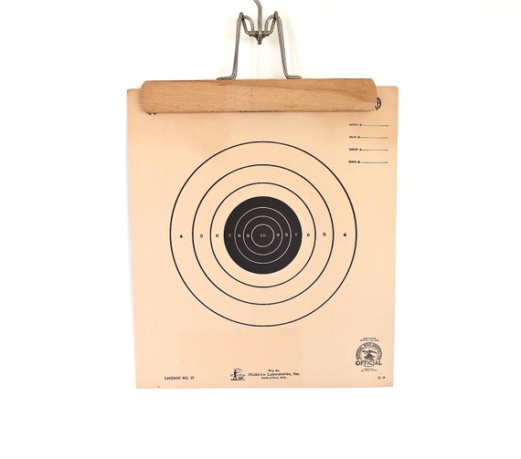 What's Your Target - Vintage NRA Target Paper