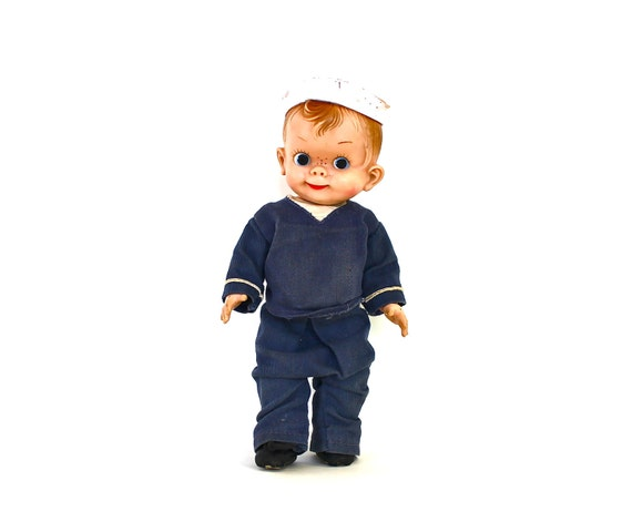 Salute the Sailor - Vintage Mickey Effanbee Sailor Doll