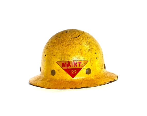 Reserved for styelsides - Mr. Smith Worked Maintenance - Vintage Maintenance Construction Hat