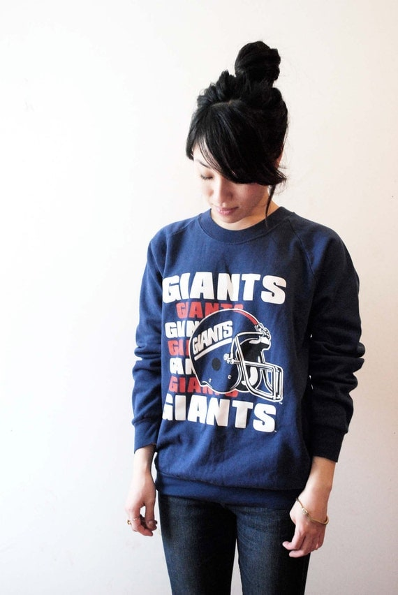 NY GIANTS 80s Official Licensed NFL Sweatshirt