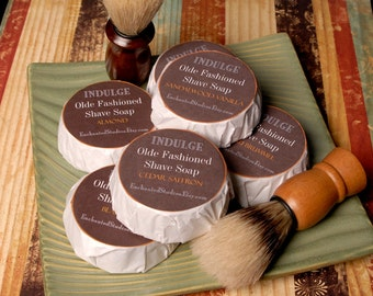 Mens shave soap deals...Pick three.