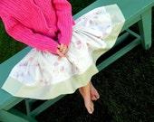Shabby Chic Rose Twirly Skirt SIZE 4T