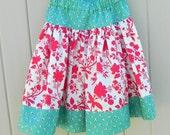 Raspberry Patch Twirly Skirt  Size 5 - 6