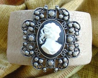 Cameo Cuff Bracelet