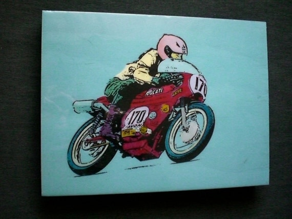 Ducati Racer Painting