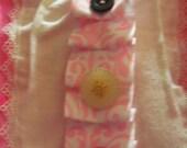 Baby Pink Robin Onesie