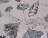 linen fall leaf print cushion pillow cover 18 inches