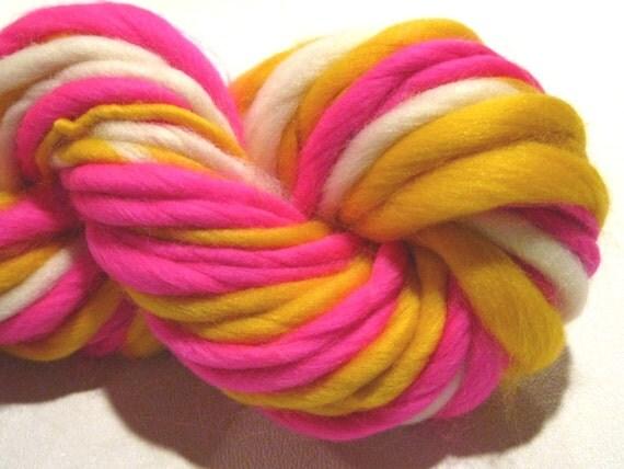RESERVED for petitbonbon handspun yarn Go Get 'Em