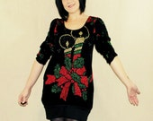 Ugly Christmas Sweater Dress- Made to Order