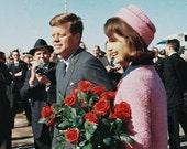 Custom order: Jackie Kennedy's Pink Hat for Liz (retrogal87)