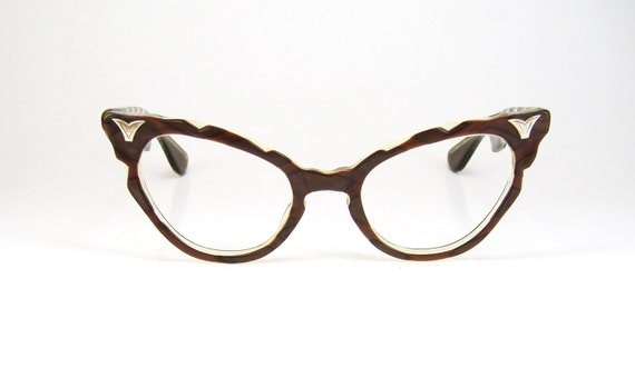 Vintage 50s Vogue Cat Eye Sunglasses