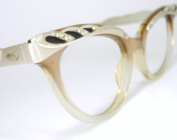 1950s Cat Eye Eyeglasses Sunglasses Eyewear Frame Liberty Glasses