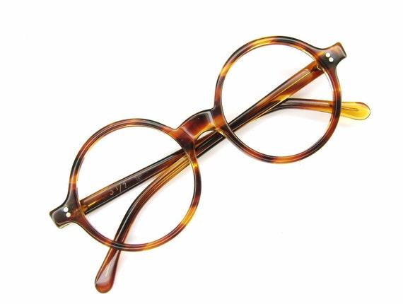 RESERVED Round 60s Tortoise Eyeglasses Sunglasses Frame Never worn NOS Tart Optical