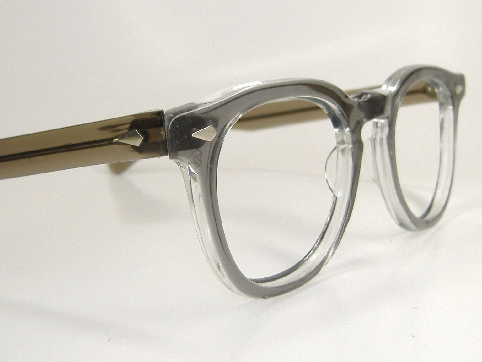 Men s Eyeglass Frames : Vintage Tart Optical Mens Eyeglasses Frames OTE 1950s 60s
