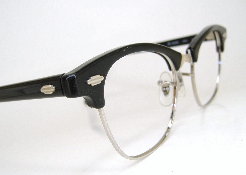 Vintage ladies art craft cat eye eyeglasses frame for Art craft eyeglasses vintage
