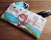 Small I Love Vancouver Zipper Pouch