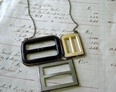Buckles Revisited Necklace