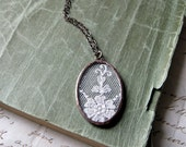 Reflection  Vintage Lace Necklace