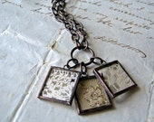 Treasured Dreams Lace Charm Necklace