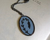 Leaves Silhouette Necklace