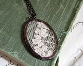 Dreams Remembered  Lace Necklace