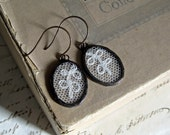 Wedding Dreams Vintage Lace Earrings