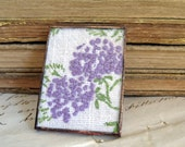Reserved for Christie    Lavender Dreams Vintage Embroidery Brooch Pin