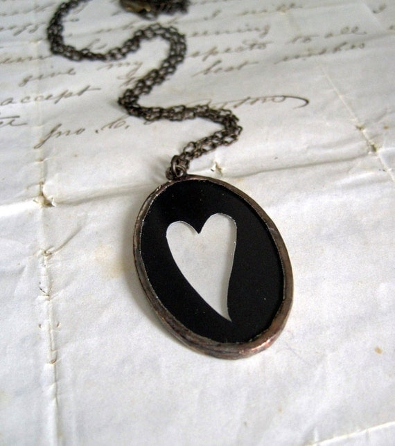 Sweet Heart Silhouette Necklace