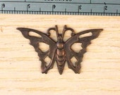 Vintaj Brass Large Open work Butterfly SALE