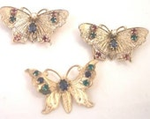 3 Butterfly Pins by Accessocraft