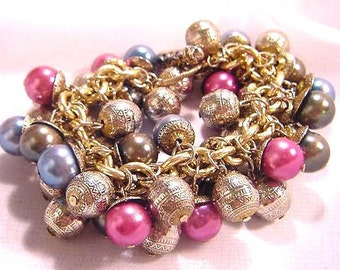 Chunky Bubble Bauble Dangling Bracelet