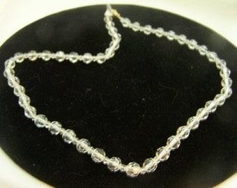 Vintage Strand Austrian Crystal Necklace