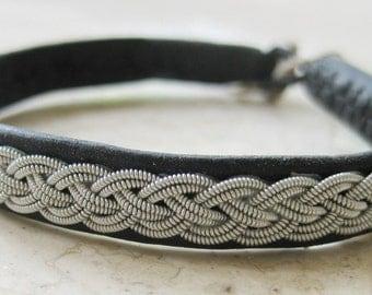 Swedish LAPLAND Sami bracelet, Model - SAAMI